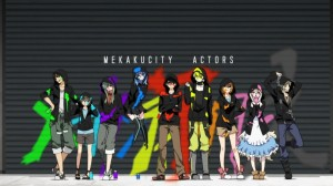 [3 Eps Rule] Mekaku City Actors