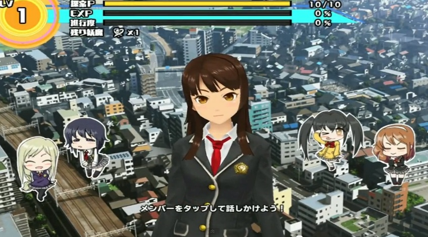 Gameplay School Girl Strikers Diperlihatkan Dalam Video