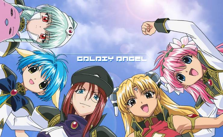 [Flashback Friday] Galaxy Angel