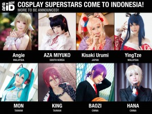 Spotlight Guest Cosplayer AFA ID 2014