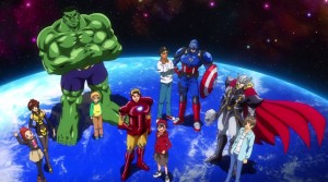 Serial Anime Marvel Disk Wars: The Avengers Mempertemukan Sabretooth dan Wolverine