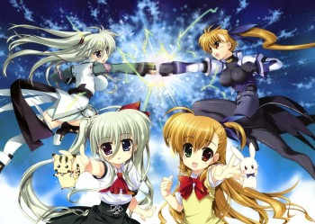 Magical Girl Lyrical Nanoha ViVid Dapatkan Adaptasi TV Anime