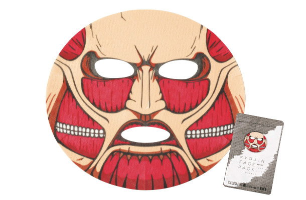Majalah VoCE Memberikan Tutorial Make-up Levi & Masker Colossal Titan