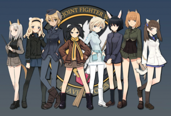 Anime 'Strike Witches' Season 3 Akan Tampilkan Unit 502nd Joint Fighter Wing