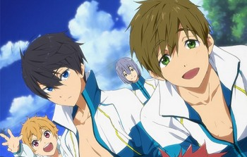 Teaser Film High Speed! -Free! Starting Days- Ditayangkan