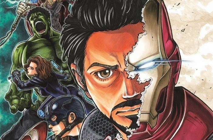 Main Visual Berwarna Manga 'Avengers: Age of Ultron' Dipublikasikan