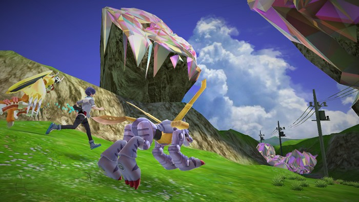 Screenshot 'Digimon World: Next Order' Pamerkan Wargreymon dan MetalGarurumon