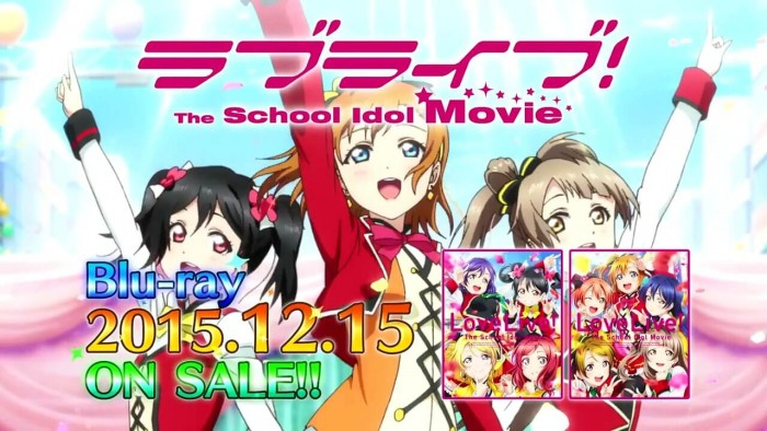 Love Live! The School Idol Movie Tampilkan Trailer dan Bonus Blu-Ray