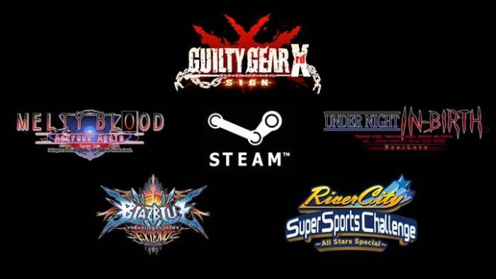 ArcSys Akan Membawa Guilty Gear X'rd, Blazblue CP Extend, Melty Blood, Under Night, dan River City ke PC!