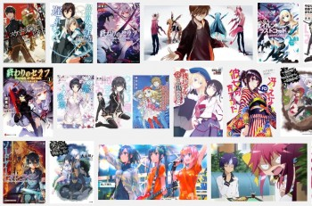 4 Seri Light Novel Terlaris Tahun 2015