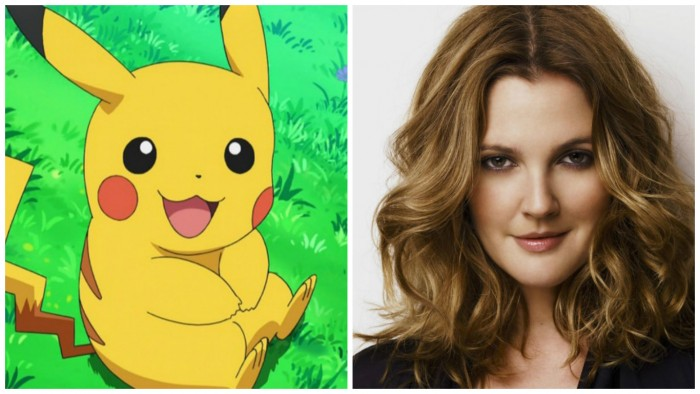 Artis Hollywood Drew Barrymore Mengadakan Pesta Pokemon di Los Angeles