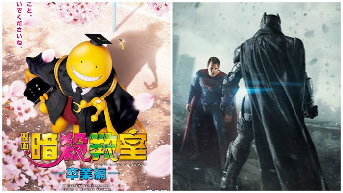 Live-Action 'Ansatsu Kyoushitsu' Mengalahkan 'Batman v Superman' di Jepang