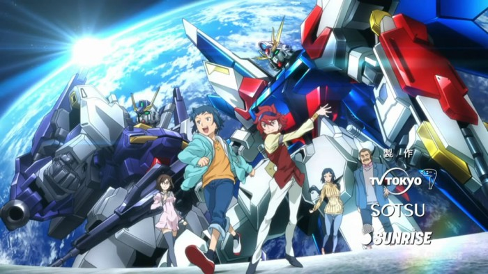 [Flashback Friday] Gundam Build Fighters