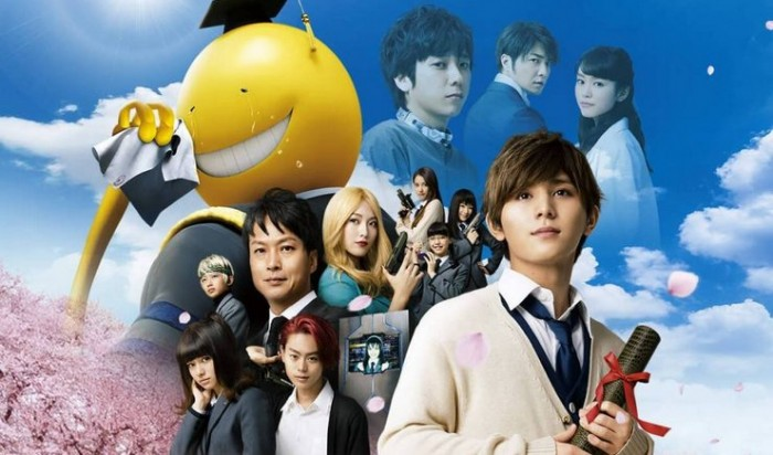 Film Live-Action 'Ansatsu Kyoushitsu' Tetap Menjadi Nomor 1 Dengan Pendapatan 393 Juta Yen