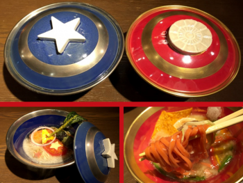 Ippudo Membuat Ramen Captain America dan Iron Man