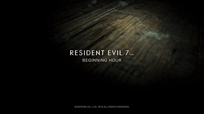 Mencoba Demo 'Resident Evil 7 Teaser: The Beginning Hour'