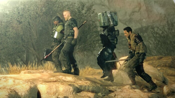 Konami Umumkan 'Metal Gear Survive' untuk PS4, Xbox One, PC