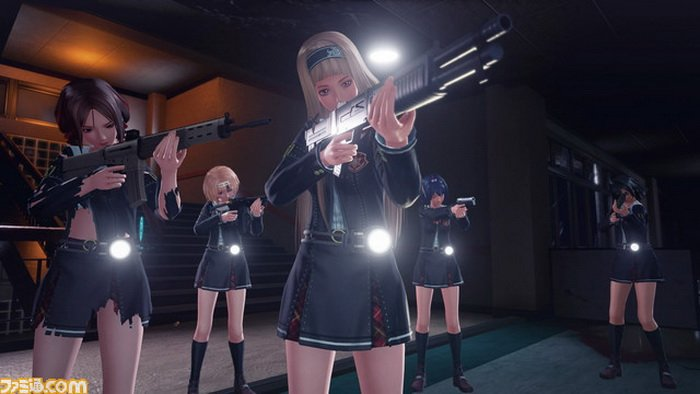 D3 Publisher Umumkan 'SG/ZH School Girl/Zombie Hunter' untuk PS4